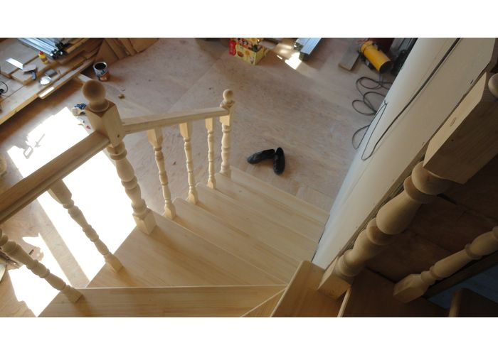 Делаем лестницу деревянную